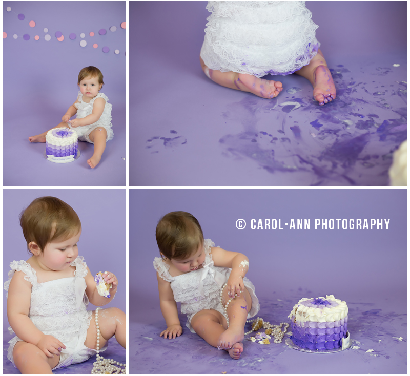Vancouver Cake Smash Photographer - Carol-Ann Photography